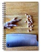 Chicken Feet Spiral Notebook