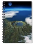 Chicxulub Crater, Illustration Spiral Notebook