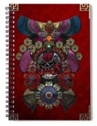 Chinese Masks - Large Masks Series - The Demon Spiral Notebook