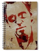 Chris Martin Coldplay Spiral Notebook