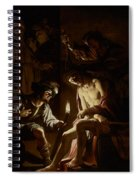 Christ Crowned With Thorns Spiral Notebook