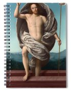 Christ Rising From The Tomb Spiral Notebook