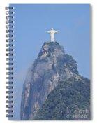 Christ The Redeemer, Rio De Janeiro Spiral Notebook