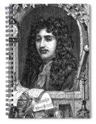 Christiaan Huygens, Dutch Polymath Spiral Notebook