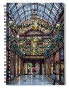 Christmas Arcade Spiral Notebook