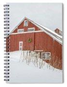 Christmas Barn Spiral Notebook