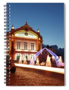 Christmas In Ribeira Grande Spiral Notebook