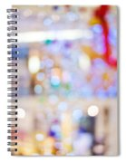 Christmas Lights Spiral Notebook