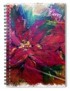 Christmas Star Spiral Notebook