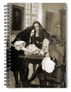 Christopher Wren Injects Drugs Spiral Notebook