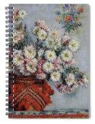 Chrysanthemums Spiral Notebook