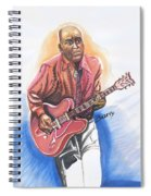 Chuck Berry Spiral Notebook