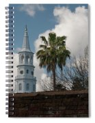 Church Bells Ringing Spiral Notebook
