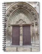 Church Entrance Spiral Notebook