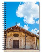 Church In San Javier, Bolivia Spiral Notebook