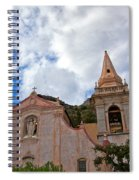 Church In Taormina Spiral Notebook