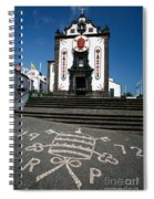 Church In The Azores Spiral Notebook