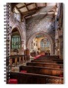 Church Light Spiral Notebook
