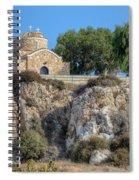 Church Of Profitis Elias - Cyprus Spiral Notebook