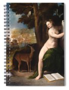 Circe And Her Lovers In A Landscape Spiral Notebook