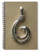 Circle Hook Pendant Spiral Notebook