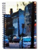 City As A Painting Spiral Notebook