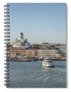 City By The Sea Spiral Notebook