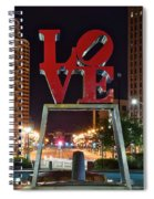 City Of Brotherly Love Spiral Notebook
