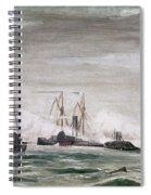 Civil War: Naval Battle Spiral Notebook