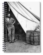 Civil War Soldier Spiral Notebook