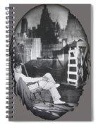 Clark Gable Mgm Sound Stage Circa 1932-2008 Spiral Notebook
