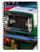 Classic Camero Spiral Notebook