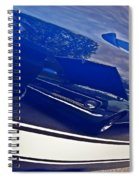 Classic Car Reflection Spiral Notebook