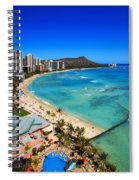 Classic Waikiki Spiral Notebook