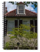 Clay Tile Roof Spiral Notebook