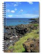 Clear Blue Ocean Spiral Notebook