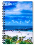 Clearwater Beach, Florida Spiral Notebook
