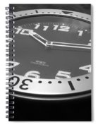 Clock Face Spiral Notebook