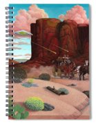 Close Encounter Spiral Notebook