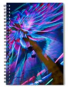 Close-up Of Paper Windmills Spiral Notebook