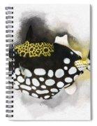 Clown Triggerfish No 01 Spiral Notebook
