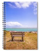 Coastal Landscape Near Padre Island Texas Spiral Notebook
