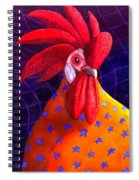 Cock A Doodle Dude Spiral Notebook
