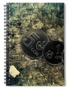 Coin Spiral Notebook