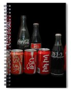Coke From Around The World Spiral Notebook