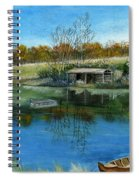 Cole Hill Pond Spiral Notebook