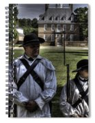 Colonial Williamsburg  V8 Spiral Notebook