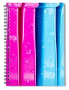 Colorful Plastic Spiral Notebook