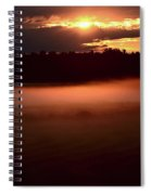 Colorful Skies Nearing Sunset Spiral Notebook