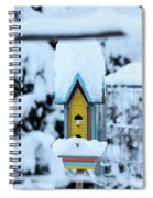 Colors In The Snow Spiral Notebook